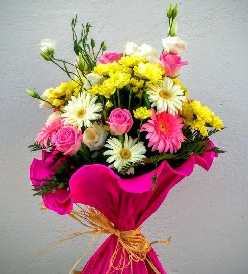 C mo comprar un ramo de flores online ramos de flores - Como secar un ramo de rosas ...