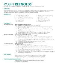 Image Result For Hvac Resume Summary Of Qualifications  Todd
