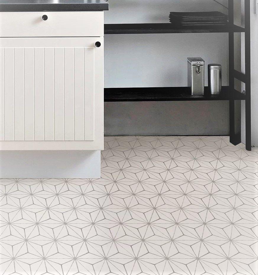 Kikko Vinyl Floor Tile £16 per 0.93 m2 in 2020 Outdoor