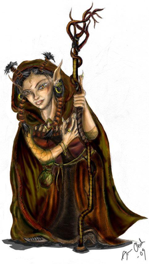 Female Gnome: Female Gnome Female Gnome, Rock Cleric 11: …