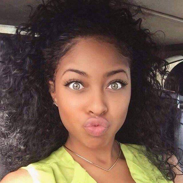 algerian beautiful curls curly