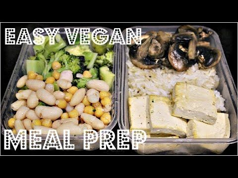 Easy meal prep 4 cheap lazy vegan youtube food recipes hi guys in this video im showing you a very easy mealfood prep idea forumfinder Choice Image