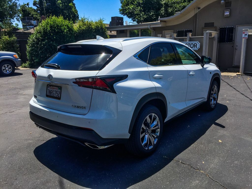 Topic 2016 Lexus NX 200t F Sport is in the CF garage