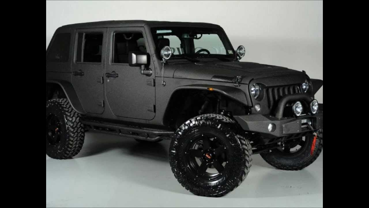 2014 lifted jeep wrangler unlimited fastback