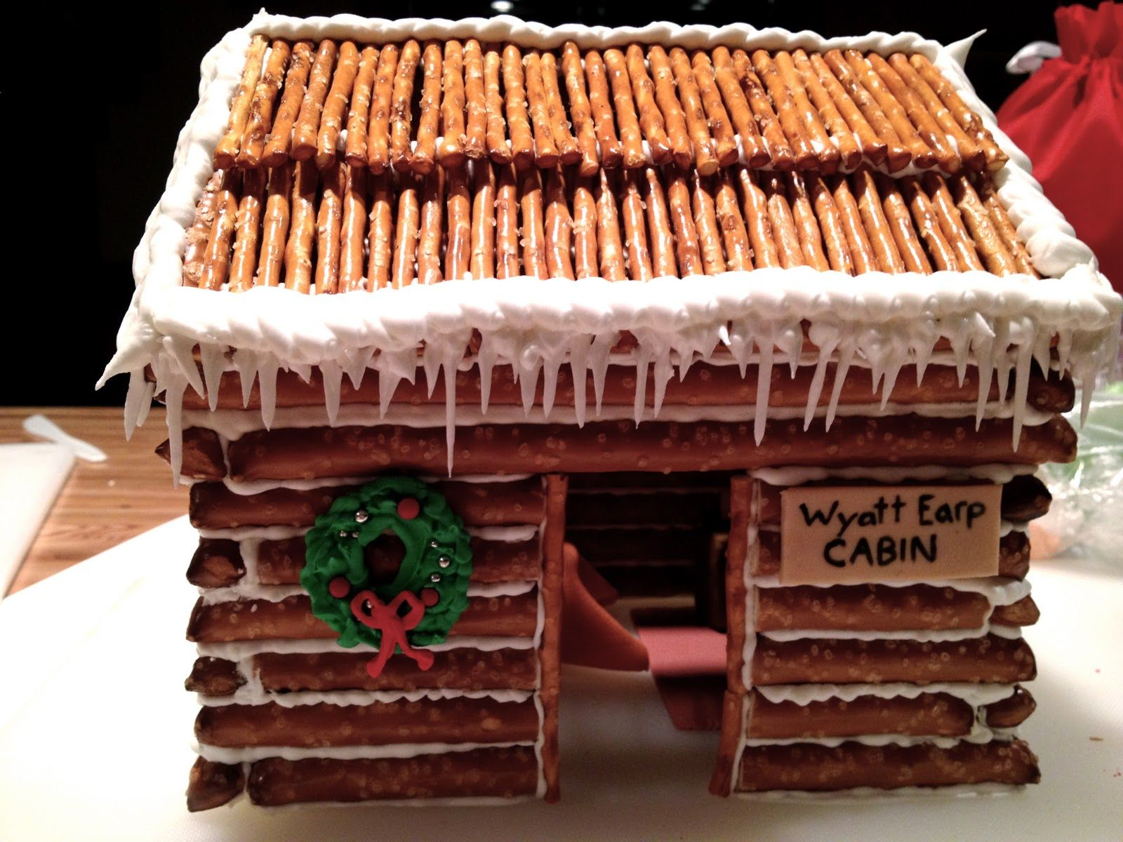 Gingerbread house cabins gingerbread house published
