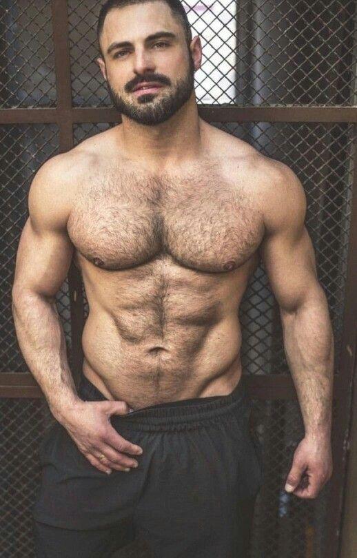 волосатые мужчины порно