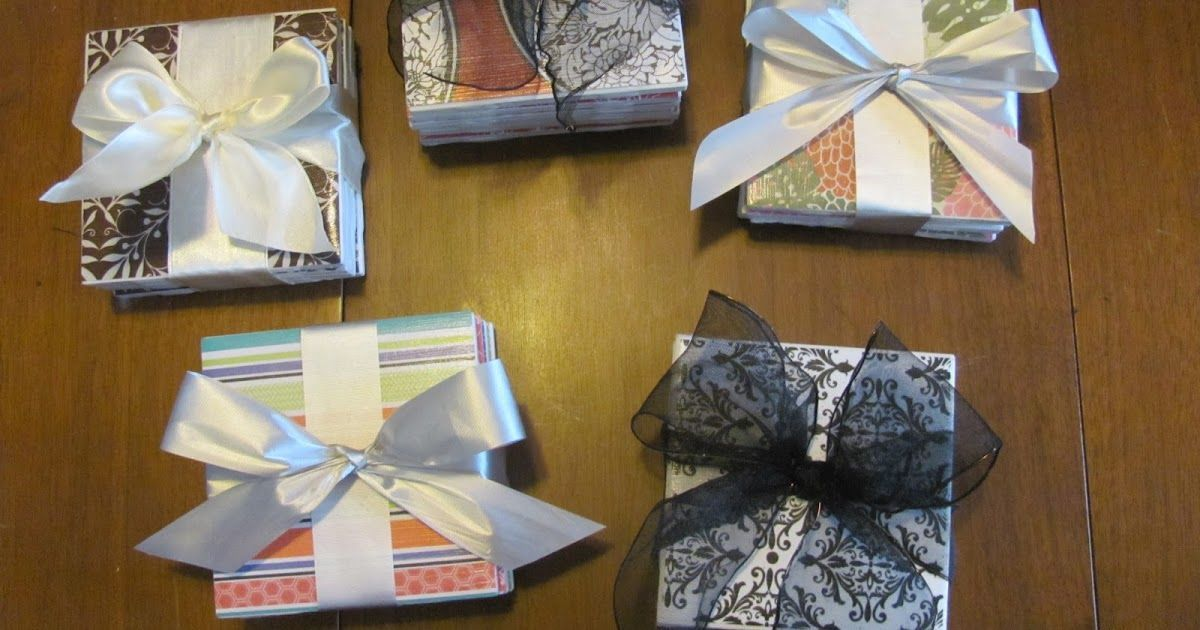 Something Granny: Mod-Podge Coasters and Magnets