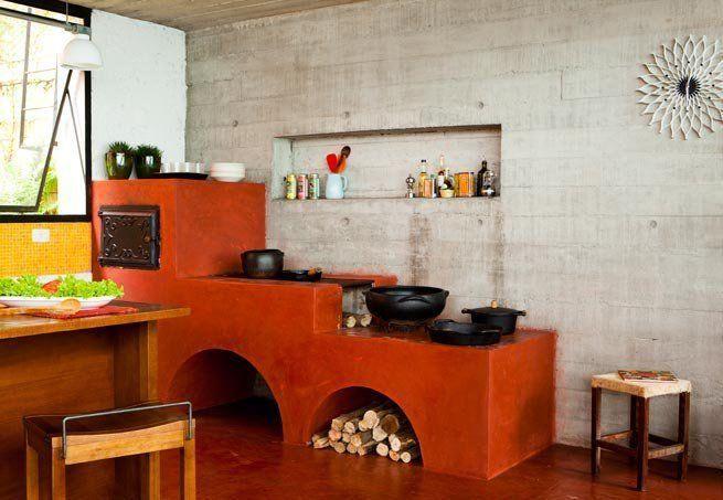 Imagem 13 casa y recamaras pinterest asaderos for Parrillas para casa de campo