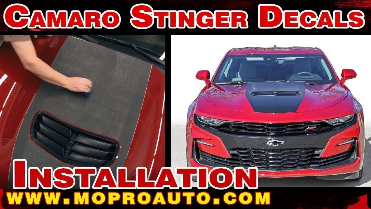 2019 Camaro Hood Decal Shock Chevy Camaro Center Stinger Style Hood Str Chevy Camaro Camaro 2019 Camaro