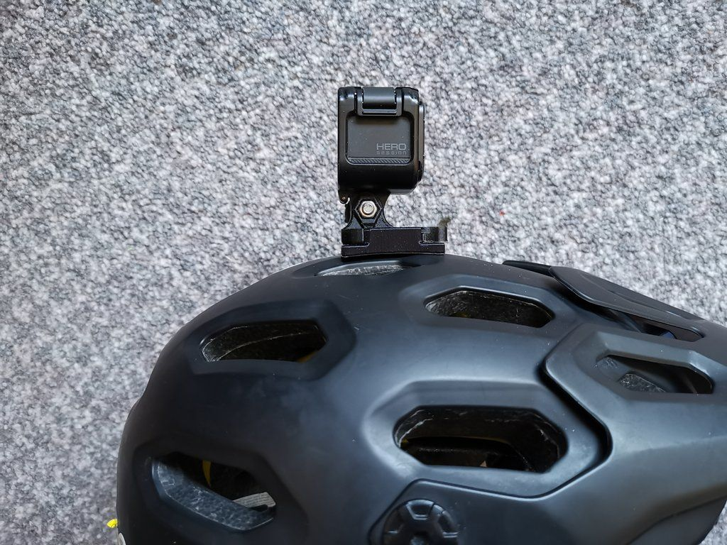 Top Mount For Bell Super 2r 3r Helmets Top Mount Gopro Mounting