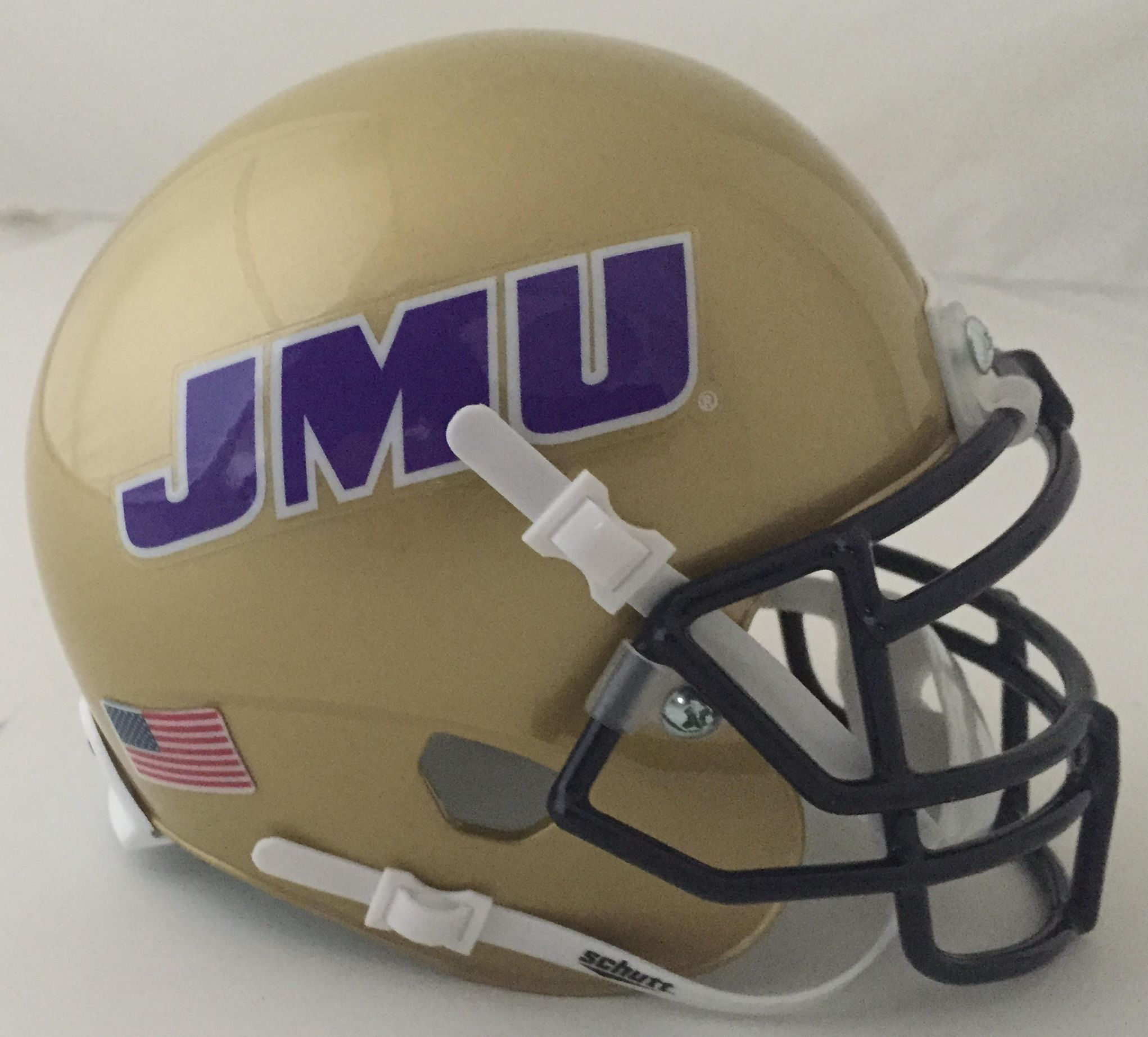 James madison dukes schutt xp mini helmet football