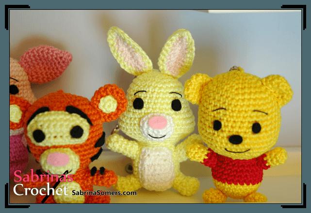 Patrones de conejos amigurumis : Patrones gratis para hacer muñecos amigurumi pequeocio