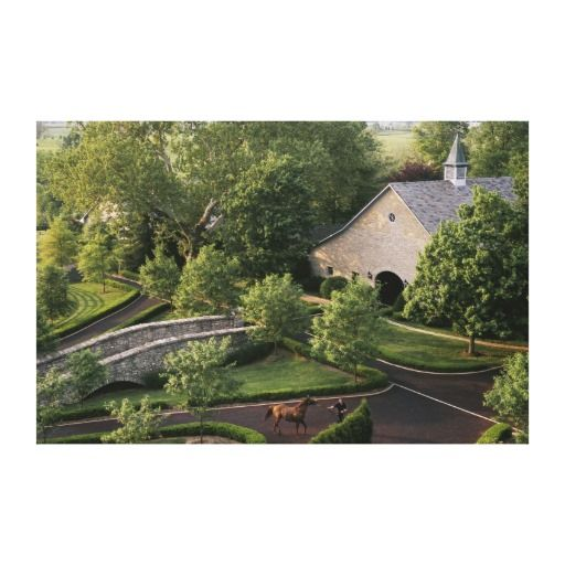 Ashford Stud, Kentucky. Canvas Prints