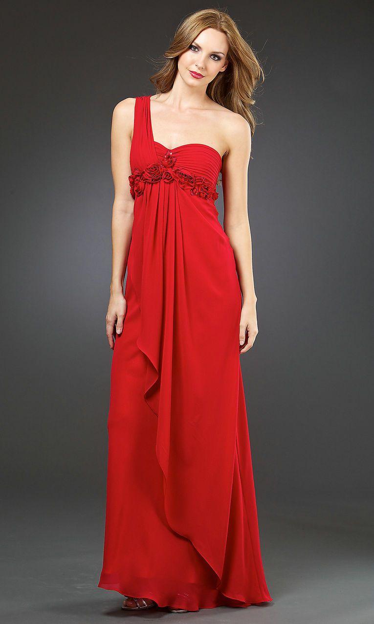 10 Best images about One Shoulder Prom Dresses on Pinterest - Aqua ...