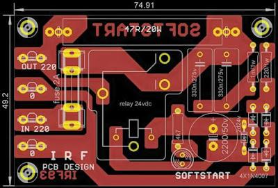Soft Start Power Amplifier | Electronics circuit ...