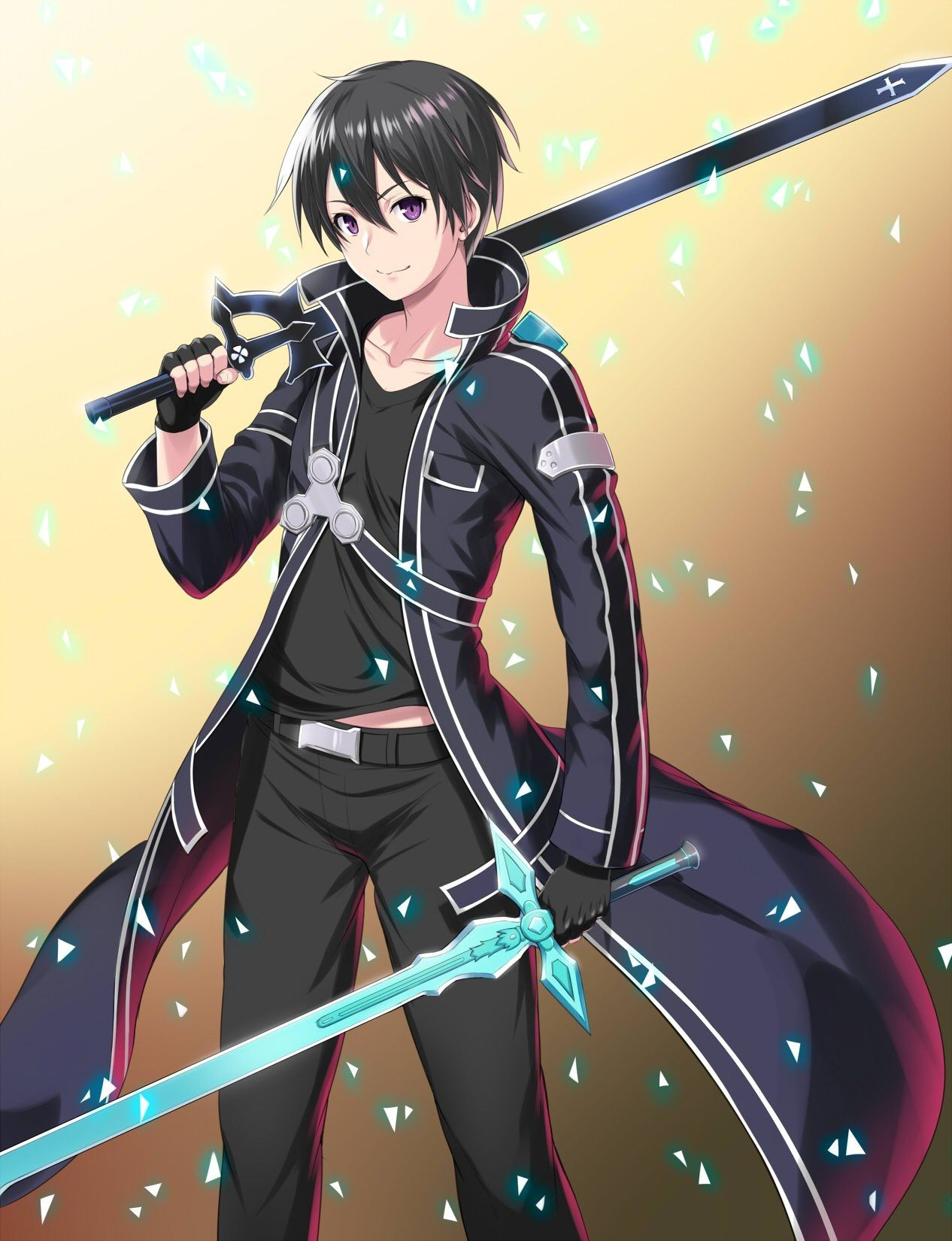 Pin By Octavio R On Sword Art Online Sword Art Online Kirito Sword Art Online Asuna Sword Art Online Wallpaper Anime boy with sword wallpaper