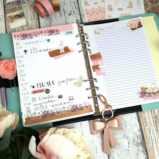 Creative Pages By Amaryllis775 Filofaxing VintageStickerDream Terminplaner Selbst Gestalten Taschenkalender Diy