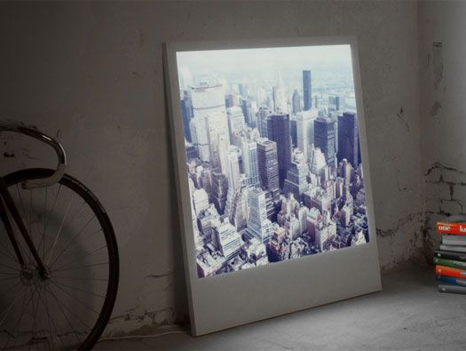 Super cool - Polaboy Picture Frames by Lightboys a luminous, large ...