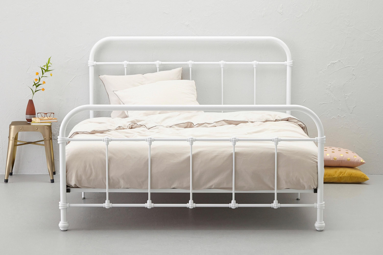 Lyon bed #wehkamp #Lyon #bed #metaal #wit #slaapkamer #slapen ...