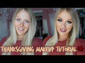 Photo of Thanksgiving Makeup Tutorial 2016   Huda Beau