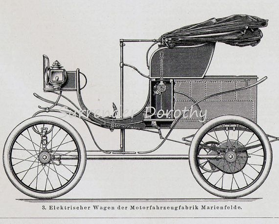 Car Club Inc: Daimler Steam & Electric Cars Automobiles Engineering