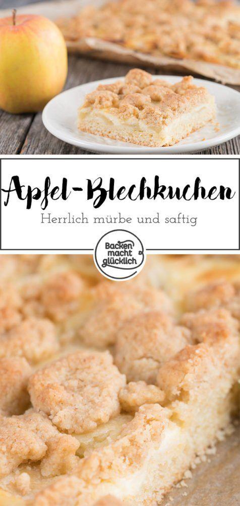 Apfel Schmand Kuchen Mit Streuseln Rezept Apfelkuchhen