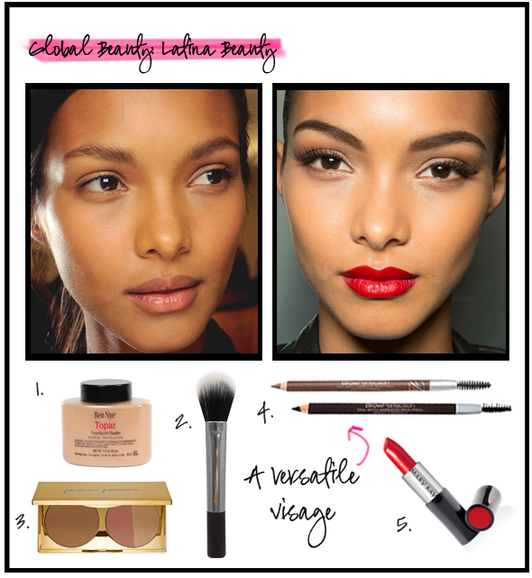 Latin women have long been admired for their exotic beauty—big brown eyes, long luxurious hair and full lips. There is also a chameleon-like aspect to this ethnicity that makeup artists love; Latinas can look like a variety of ethnicities depending on their makeup application. Check out our blog for our tips and tricks to look good in any cosmetic style: http://goo.gl/B4STJO