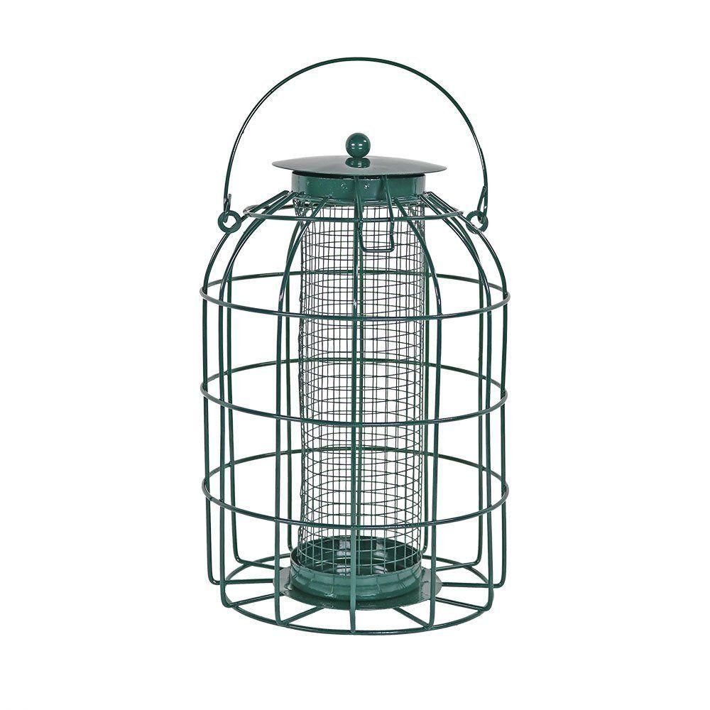 Amazon.com : Sunnydaze 9 Inch Green Wire Squirrel-Proof Wild Bird ...