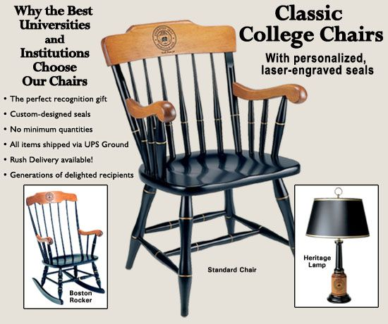 Superior College Chairs, Captainu0027s Chair, Commemorative Chairs , Alumni Chairs,  Award Chair,Recognition