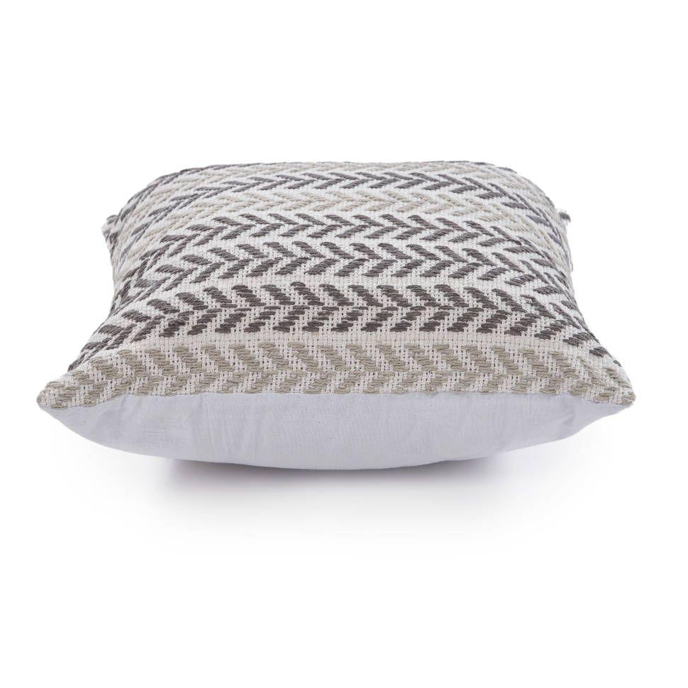 ae88a4efa0a Galilea Chevron 100% Cotton Throw Pillow in 2019