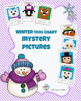 This is a no prep, high interest activity that reinforces the Common Core Standards of Counting and Cardinality to 100. It's a great way to incorporate some winter theme activities into math centers or a way to keep early finishers engaged and on task!
