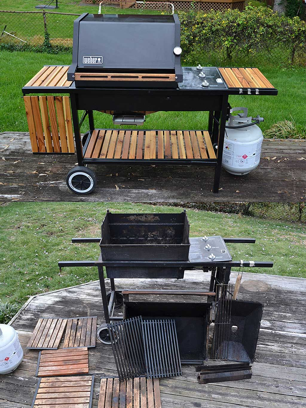 Genesis 2 After Restoration And Before Restoration Gas Grill Backyard Grilling Bbq Grill Design