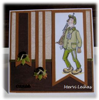 Leikkaan kortit: Autumn hunter