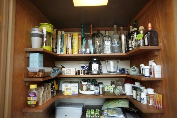 U Shaped Shelves (like These, From The Kitchen Of A Midcentury Buff,