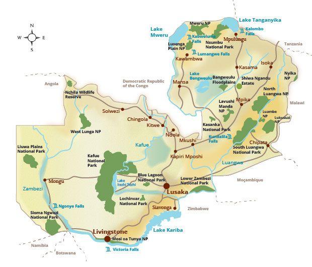 Zambia National Parks National Parks Zambia Tourism