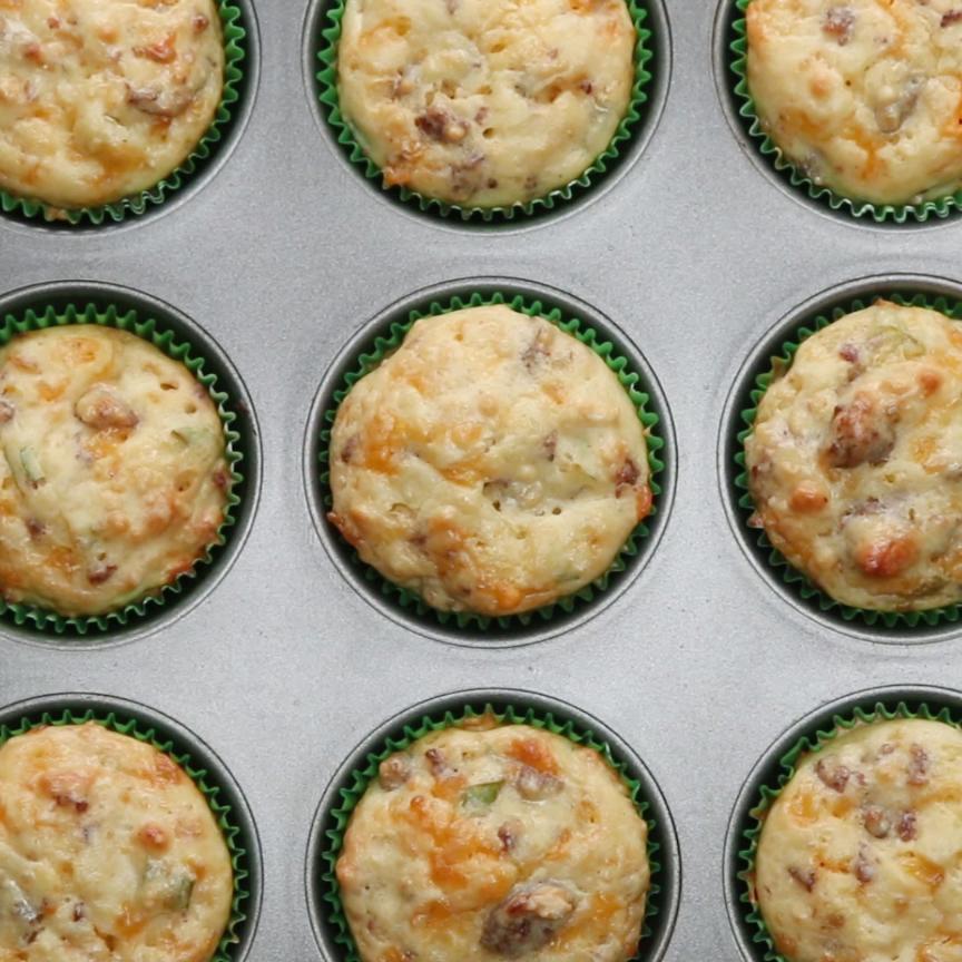 Freezer-Prep Breakfast Muffins