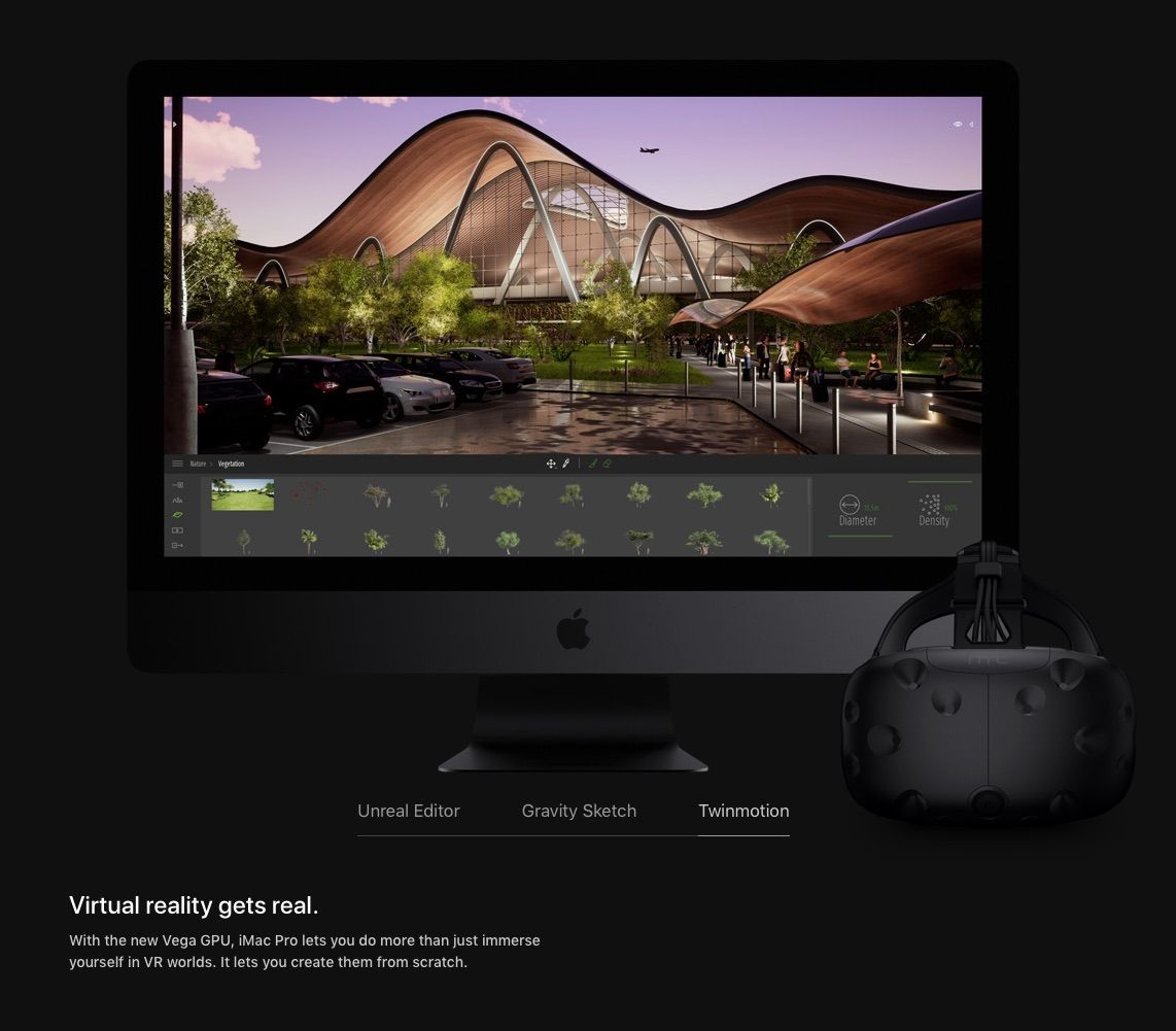 Apple Showcases Twinmotion 2018—Updates iMac Pro Page with