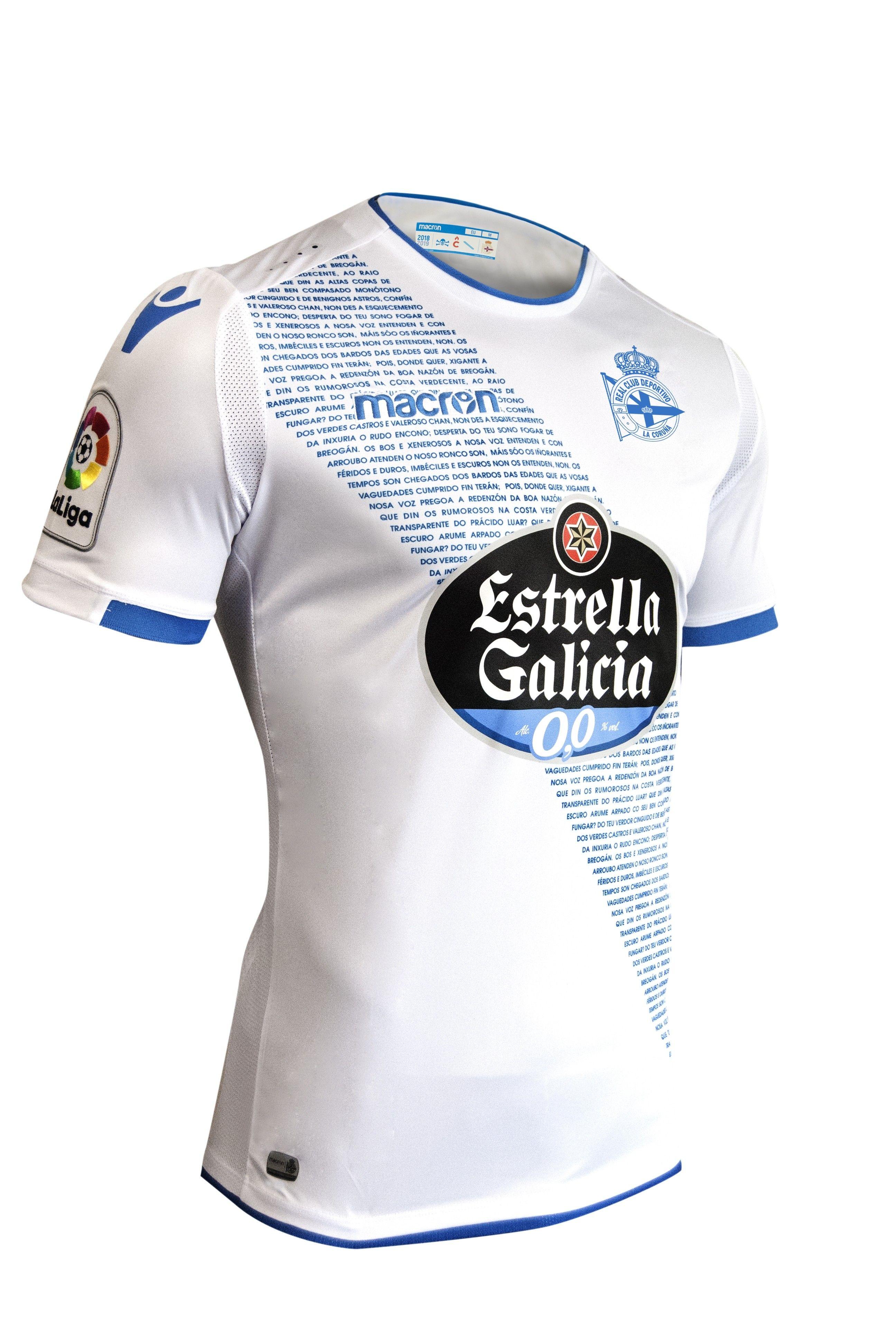 32ec339e25 Deportivo de La Coruña 2018-19 Macron Third Shirt