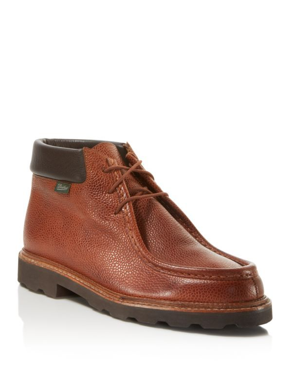Paraboot Milly Pebbled Leather Wallabee Chukka Boots | Products ...
