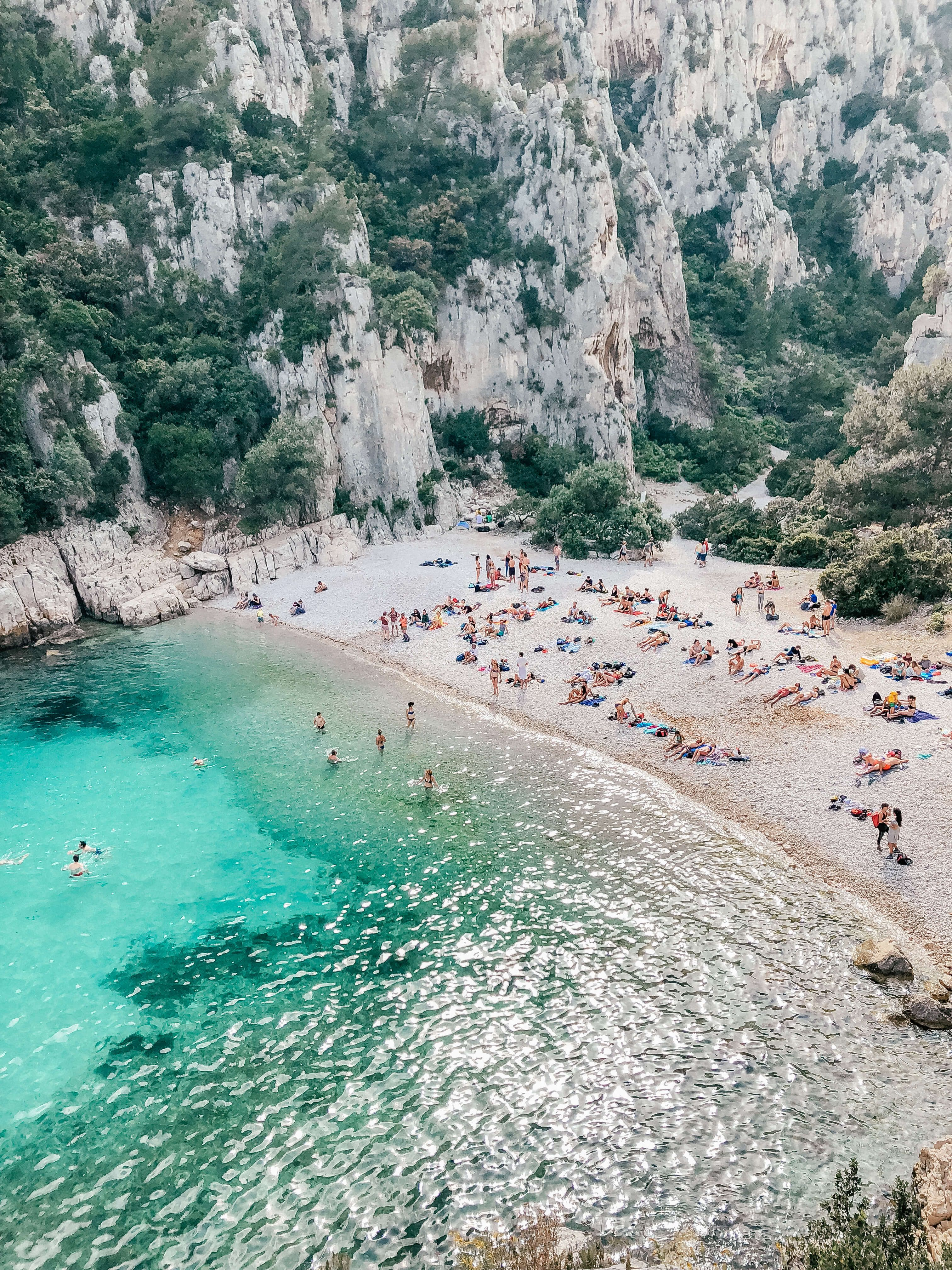 Hiking To The Beautiful Beaches Of Calanques National Park In