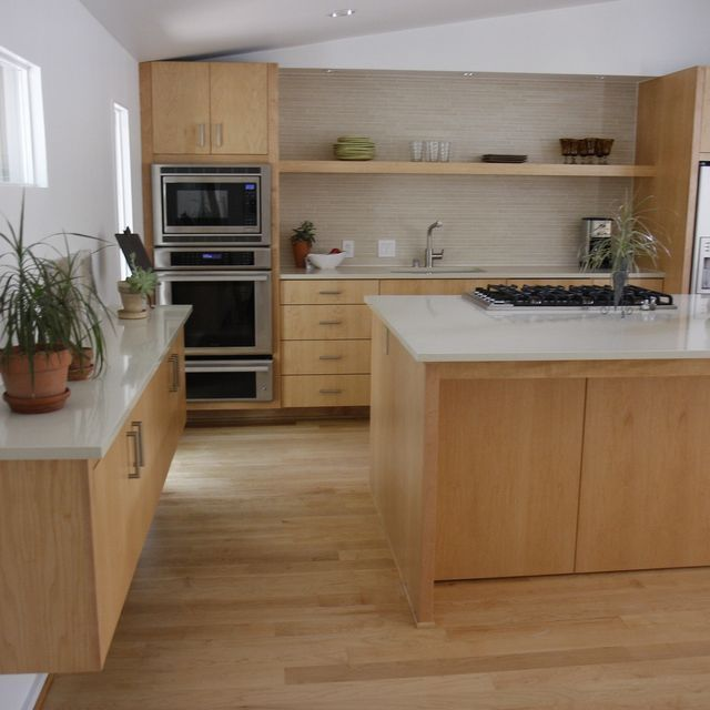 Love this from CustomMade | Kitchens | Maple kitchen ... on Modern Kitchen Backsplash With Maple Cabinets  id=82550