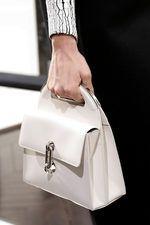 Balenciaga Fall 2013 Ready-to-Wear Collection on Style.com: White Bag