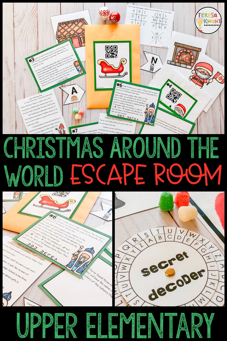 Christmas Around the World Escape Room Cracking the