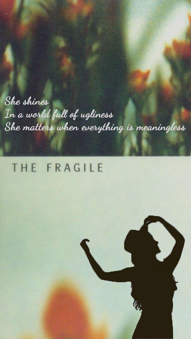 The Fragile poster for mobile. Nine Inch Nails #lyrics | Trent ...