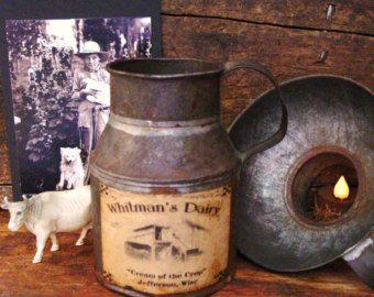 Antique tinware