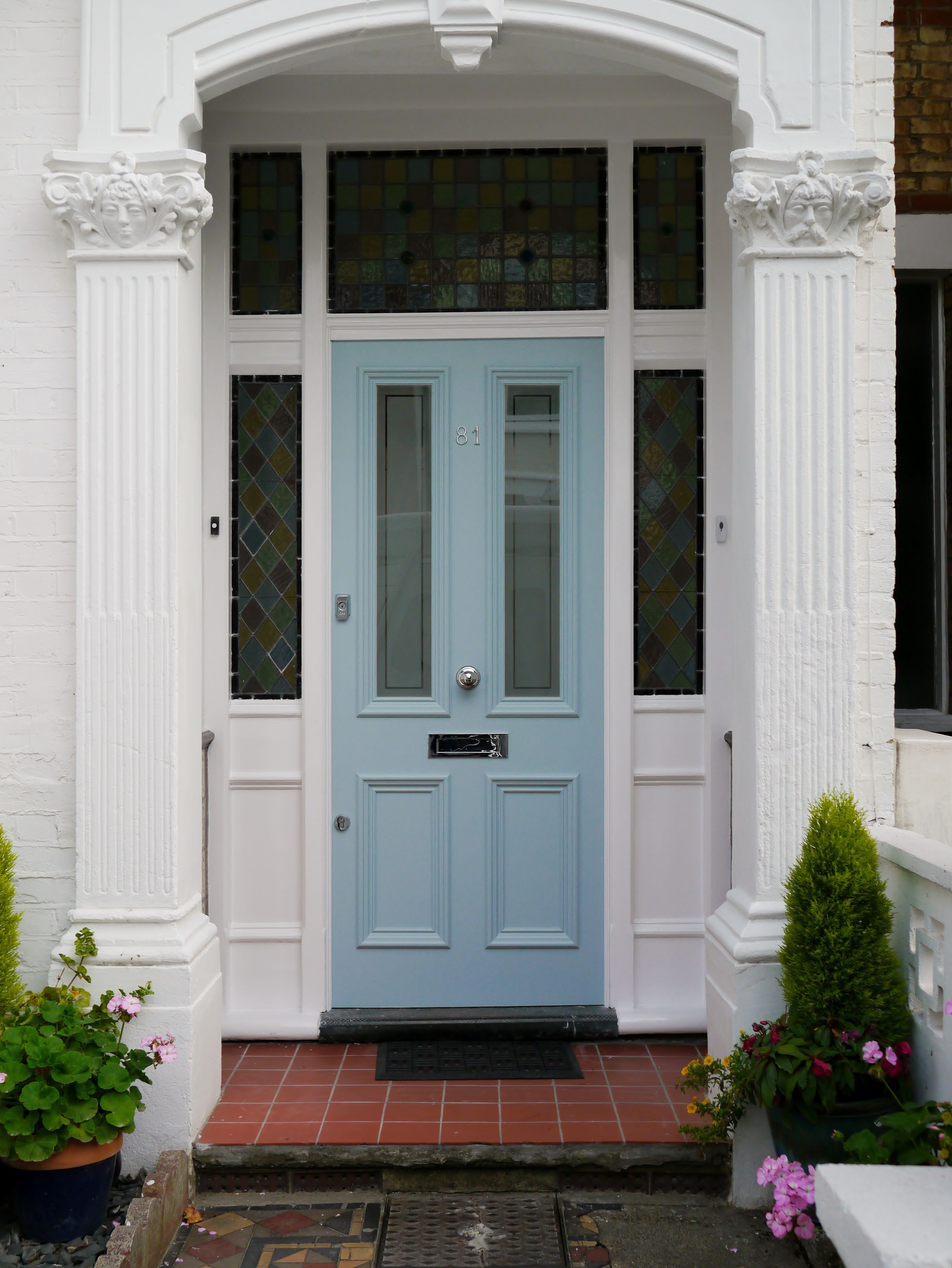 The London Door Company Wandsworth, London - Farrow and Ball Parma ...