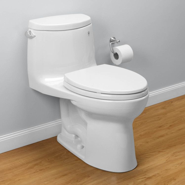 Toto MS604114CEFG#01 UltraMax II Elongated High-Efficiency Toilet ...