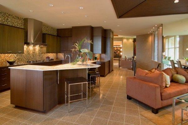 open floor plan | Splanch | Pinterest | Encimeras de cocina ...