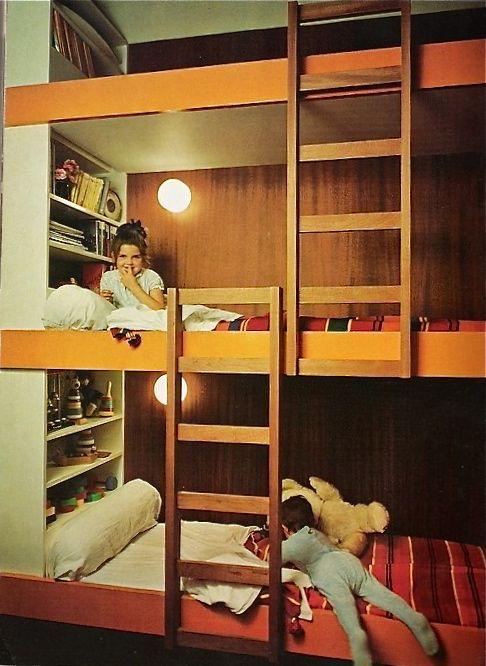 Best Mid Century Bunk Beds Bunk Bed Designs Bunk Beds Kids 400 x 300