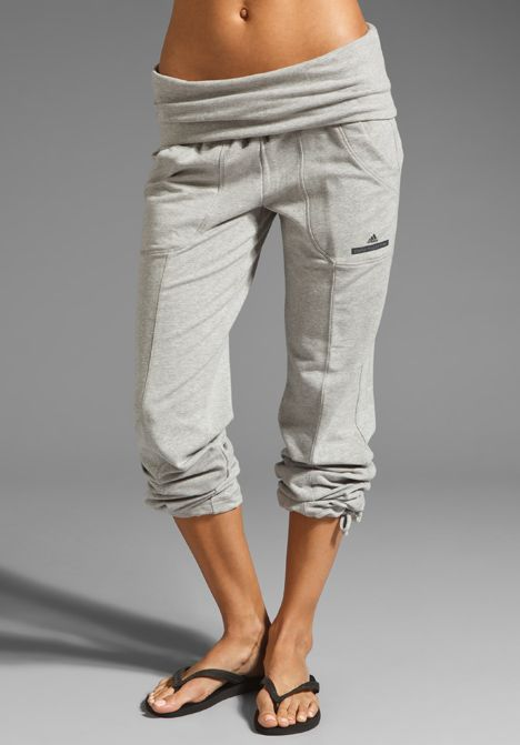 99d748479f887 want -- ADIDAS BY STELLA MCCARTNEY Knit Pant in Medium Grey Heather at  Revolve Clothing